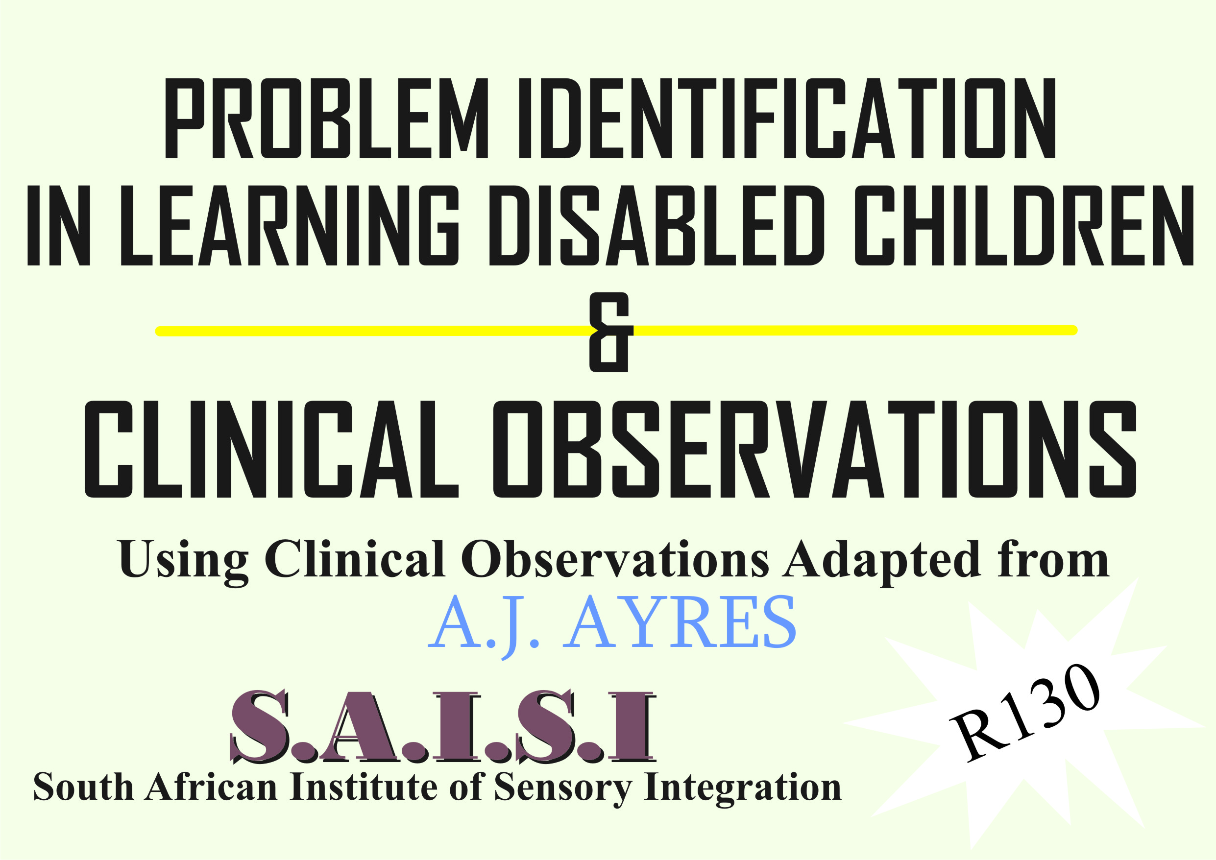 Clinical Observations - SASIC1 (15-19March2021) Overseas only